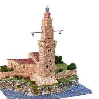 AEDES ARS Steinbaukasten Leuchtturm - Faro de Porto Pí
