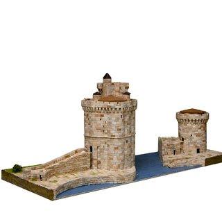 AEDES ARS Steinbaukasten Hafentürme von La Rochelle