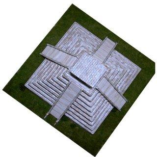 AEDES ARS Steinbaukasten Pyramide des Kukulcán