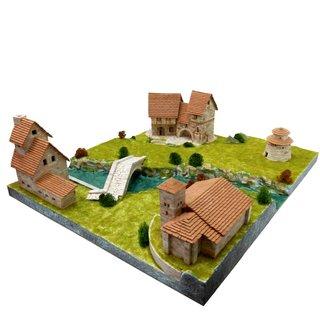 AEDES ARS Steinbaukasten - Set aus 2 Häusern