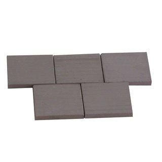 AEDES ARS - Fliese 1/10 schwarz gebr. 25 Stück