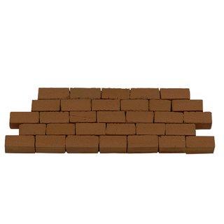 AEDES ARS - Mauerstein groß rot 3000 Stück