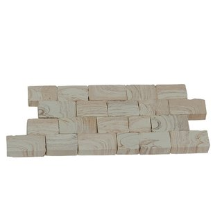 AEDES ARS - Mauerstein marmoriert groß gesprenkelt 200 Stück