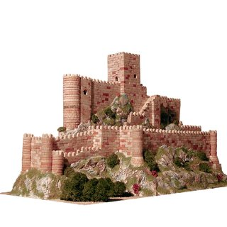 AEDES ARS Steinbaukasten - Burg Castillo de Almansa