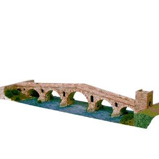AEDES ARS Steinbaukasten Brücke -  Puente la Reina