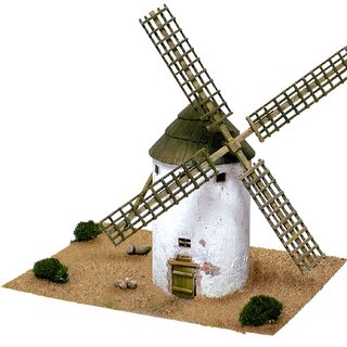 AEDES ARS Steinbaukasten Windmühle - Molino de la Mancha